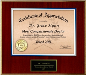 Most Compassionate Doctor 2011